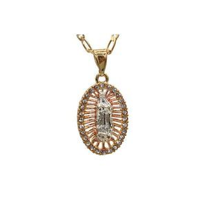 Our Lady of Guadalupe Necklace 24K Gold Filled